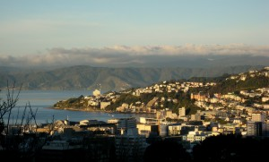 Wellington Harbour, Wellington, North Island, New Zealand