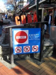 Cuba Mall, Wellington, North Island, New Zealand