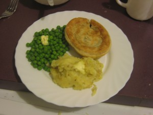 Peas, Pie and Pud