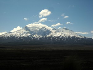 Mt. Ruapehu, North Island, New Zealand