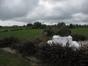 The Guiding Stone, New Plymouth, Taranaki, North Island, New Zealand