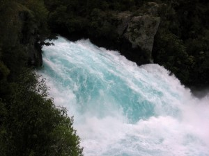 Huka Falls, Taupo, North Island, New Zealand