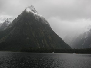 Mitre Peak, Milford Sound, Fjordland, South Island, New Zealand