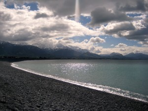 Beachfront, Kaikoura, South Island, New Zealand
