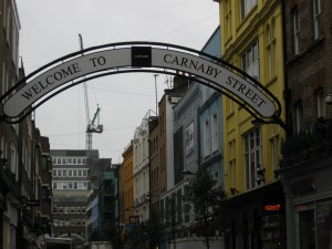 Carnaby Street Entrance