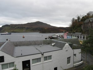 View of the harbor; Portree, Isle of Skye