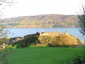 Urqhart Castle on Loch Ness