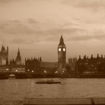 The House of Parliament & Big Ben (Sepia)