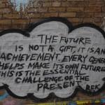 graffiti in THE TUNNEL