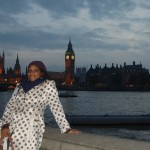 Shari in front of The House of Parliament & Big Ben