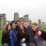 The New Paltz Study Abroad Crew! :::Stonehenge:::
