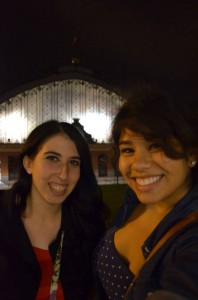 Reunited and it felt so good! After an evening at the two world-famous Prado and Reina Sofia museums, we hung out in Atocha.