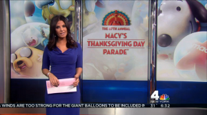 I wanted to watch the Macy's Thanksgiving Day Parade online but I couldn't find one working link...but I did watch some of the NBC news leading up to it.