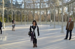 A beautiful, open space owned by the  Reina Sofia  museum, it's free to walk around & take a look.