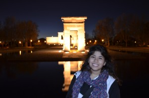 Templo de Debod, an Egyptian gift to Spain for assisting in the salvation of the Nubian Temples.