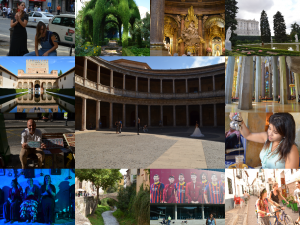 Flamenco shows, street bands, gardens, soccer stadiums, churches, tea houses; Some of the greatest moments of my trip :-)