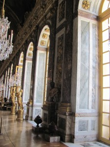 The hall of mirrors is my favorite room.