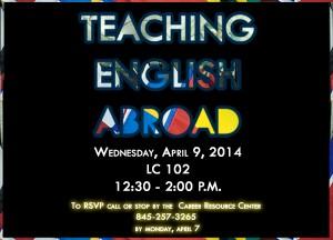 RSVP Reminder for Teaching English Abroad