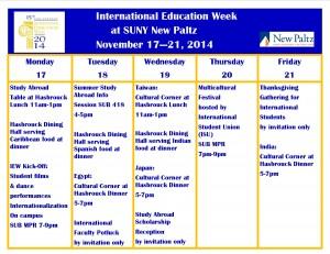 Public IEW 2014 calendar