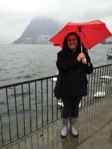 Rainy day in Lugano!