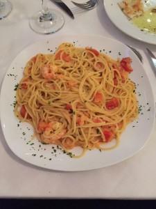 My first pasta dish in Milan