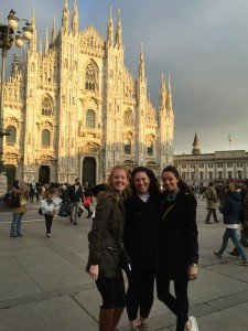 MK, Taylor, and I take on the Duomo!