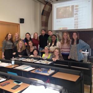 My Italian pre-intensive class