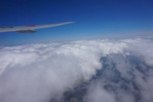 The view from my window seat