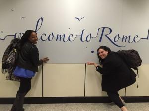 Roommates Roam Rome!