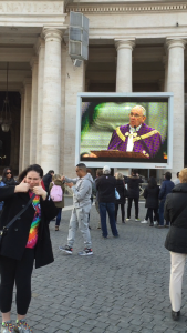 Mass in the Vatican City with the Pope!