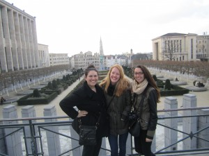 Unicatt students taking on Brussels!