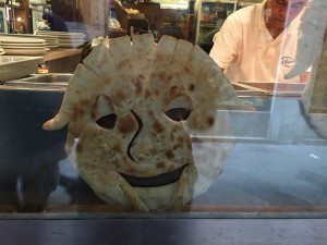 Even bread is happy to be in Venice =)