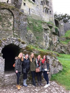 Blarney Castle with MK, Heidi, Brooke, and Taylor!