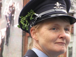 Irish Garda (Police Officer), Saint Patrick's Day Festival