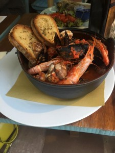 Cioppino at La Cantina di Miky