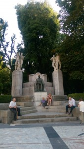 Campo de San Francisco/ San Francisco Park in Oviedo, Asturias