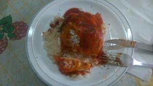 By el jefe de cocina, my host Dad
