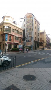 Dreaming In Spain, Streets of Oviedo #Clarín