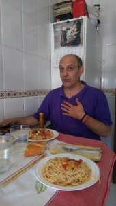 Dreaming in Spain, lunch with my Spanish father <3