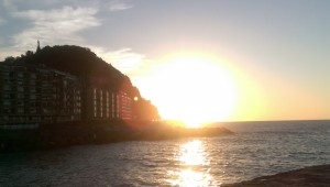 Sunset, San Sebastián, Basque Country