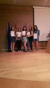Por fin!!!! Certificates of Completion for our Summer in Oviedo, Spain