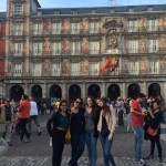 Plaza Mayor: Much happened here in the past including bullfights and executions