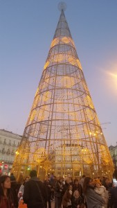 Madrid is getting ready for the holiday season!