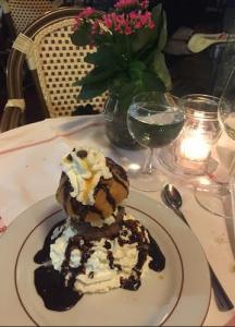 indulging in chocolate heaven