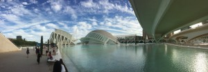 The famous City of Arts and Sciences