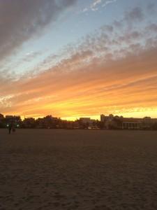Incredible views and sunsets at Las Arenas/ El Cabanyal Beach