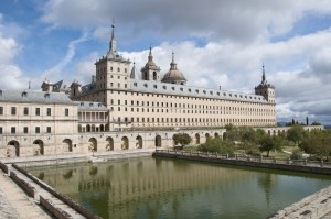 The famous and beautiful Monastery of San Lorenzo de El Escorial.