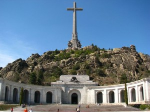 The stunning monuments at Valley of the Fallen, a must-see when visiting El Escorial.
