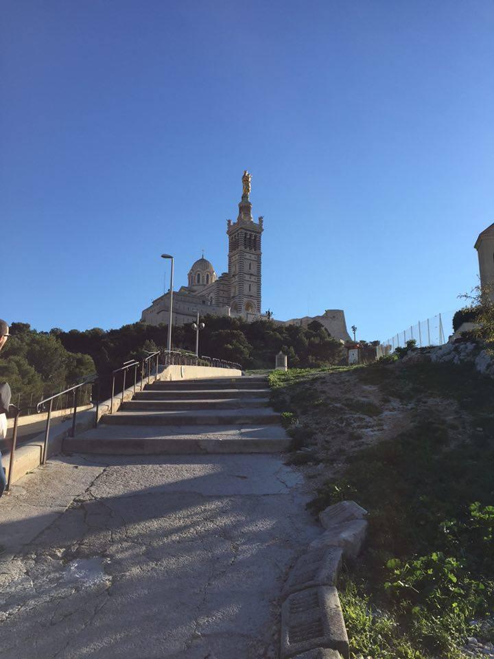 The incredible Basilique Notre Dame de la Garde