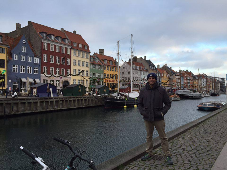 The beautiful Nyhavn Port